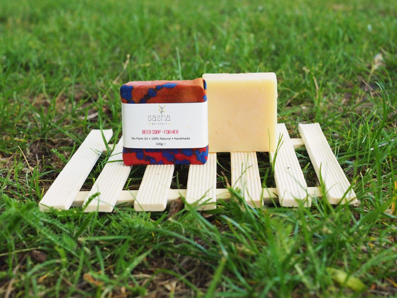 Ръчно изработен натурален сапун с бира - дамски